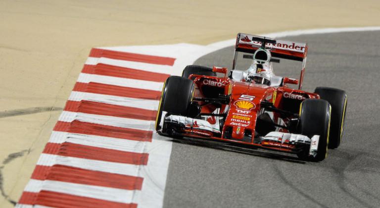 Vettel Ferrari Bahrein 2016