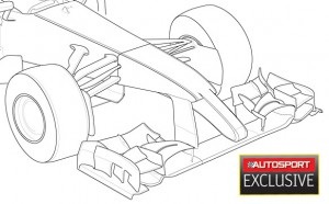 autosport front wing