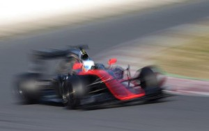 alonso test mclaren barcelona